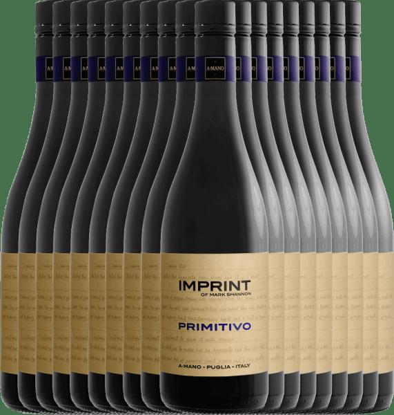 18er Vorteils-Weinpaket - Imprint Primitivo Puglia 2019 - A Mano