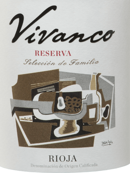 Vivanco Reserva is an excellent Spanish red wine cuvée made from Tempranillo (90%) and Graciano (10%) grapes. A clear and deep cherry red shimmers in the glass of this wine. The complex bouquet of Vivanco Reserva Tinto blends the scent of boiled fruit, mineral notes, vanilla of new oak and subtle spicy nuances. The elegant tannins are perfectly integrated. Overall, this full-bodied red wine presents a good acid structure and balsamic notes. The finish delights with a wonderful complexity and elegance. The bottle is modelled on an 18th century wine bottle exhibited at the Vivanco Museum of Wine Culture. Vinification of Vivanco Reserva The grapes for this red wine are carefully harvested by hand, selected and pressed in the wine cellar. The mash is then fermented in stainless steel tanks at a controlled temperature. After fermentation, this wine matures for 24 months in oak barrels - first in American oak for 12 months and then in French oak for 12 months. Food recommendation for Vivanco's Reserva This dry red wine from Spain should be decanted in time, at least one hour before serving and is then a perfect soloist. Awards for the Rioja Reserva Vivanco Guía Peñín: 91 points for 2011 Mundus Vini: Gold for 2011 Wine Spectator: 92 points for 2011 Concours Mondial de Bruxelles: Gold for 2011