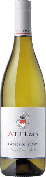 The Sauvignon Blanc by Attems appears in the glass in a shiny golden color with a slight greenish shimmer. The bouquet of this white wine shows pleasant sage and tomato leaf notes, with the note of peach, melon and white plum in the finish. The fresh and aromatic taste is extremely full-bodied. The flattering and harmonious finish offers a long-lasting aroma experience. Vinification for the Sauvignon Blanc by Attems The vines for this wine grow in vineyards, which are located in the middle of the plains and hills of the province of Gorizia. A high light intensity contributes to the grapes being able to ripen optimally. Winters are usually severe and summers mild in this area near the Adriatic Sea. After selective harvesting, the grapes are gently pressed and fermented under temperature control at 15-18°C for 15 days in stainless steel tanks. It is then stored for 4 months in a stainless steel tank on the fine yeast, 10% matures for 2 months in barrique barrels and the wine matures for another month on the bottle. Food recommendation for the Sauvignon Blanc by Attems Enjoy this dry white wine with pasta, risotto with seafood or fried fish dishes with potatoes and asparagus. Awards for the Sauvignon Blanc by Attems (vintage 2014) Bibenda: 3 grapes Gambero Rosso: 1 black glass Veronelli: ** (87 points) Wine Spectator: 88 points