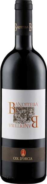 The Rosso di Montalcino Banditella DOC by Col d 'Orcia is presented in the glass in a deep ruby red with violet reflections. It exudes its complex bouquet with the aromas of blackcurrants, vanilla and roasted aromas. This sangiovese from Tuscany is intense on the palate and balanced with a good structure and ripe tannins. A tasty and full wine whose taste lasts for a long time. Vinification for the Rosso di Montalcino Banditella DOC by Col d 'Orcia After fermentation and maceration, malolactic fermentation follows, after which the wine is transferred to barrels where it is refined for one year. Food recommendation for the Rosso di Montalcino Banditella DOC from Col d 'Orcia Enjoy this dry red wine with red and white meat, cold cuts, pasta with meat sauces or medium-ripe cheese. Awards for the Rosso di Montalcino Banditella DOC by Col d 'Orcia James Suckling: 90 points (vintage 2012) Gambero Rosso: 2 glasses (vintage 2012) Wine Spectator: 90 points (vintage 2012)