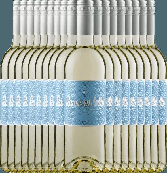 18er Vorteils-Weinpaket - La vie est belle blanc 2020 - La vie est belle