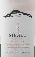 Vorschau: Unique Selection 2017 - Viña Siegel
