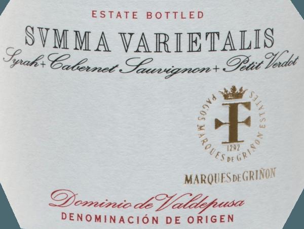 Summa Varietalis Tinto DO 2015 - Marques de Grinon von Marques de Griñon