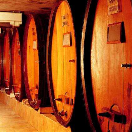 Domaine Schlumberge Weine im Weinkeller