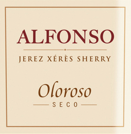 """Alfonso Oloroso Jerez by González Byass is an expressive sherry made exclusively from the Palomino Fino grape variety. The grapes grow in the Spanish wine region DO Jerez. In the glass, this wine shimmers in a wonderful amber color with golden highlights. The intense bouquet enchants the nose with multi-layered aromas of nuts - hazelnut and almond in particular stand out - accompanied by warm notes of oak and filigree hints of truffle and leather. This sherry is wonderfully dry on the palate and full-bodied with good texture and presents a multi-layered aroma of nuts, toast and wood and a hint of vanilla. The final convinces with a very good length. Vinification of the Alfonso Oloroso Byass After the careful harvesting of the Palomino Fino grapes, the harvested goods are brought to the wine cellar of Gonzalez Byass. There the berries are pressed - for this sherry the strong """"mosto de prensa"""", the must of the second pressing is used. At low temperatures, this sherry is fermented in stainless steel tanks and then sprayed on to 18% by volume and placed in the top row of barrels, the sobretabla of the Alfonso Solera. This sherry matures in the Solera barrels for about 8 years before this wine is bottled. Food recommendation for González Byass Alfonso Oloroso Jerez This sherry is a great companion to pork pastries, oxtail in dark sauce or to mushroom pans. We recommend that you hand the Byass Alfonso Oloroso in a white wine glass so that it has room to unfold its bouquet. Awards for SherryGonzález ByassAlfonso Oloroso Wine Spectator: 92 points (2017 edition)"""