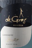 Vorschau: De Gras Reserva Carmenère 2019 - Viña Montgras