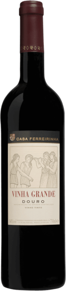 This wine comes from the house of Casa Ferreirinha, the first estate which at that time produced a dry red wine in the Douro Valley, famous for its port wine. Vinification of the Vinha Grande from Casa Ferreirinha This strong character and wonderfully harmonious red wine shines in a beautiful, deep and ruby red colour. The intense bouquet of the Vinha Grande Douro DOP from Casa Ferreirinha is dominated by floral notes, exotic wood, spices such as cinnamon and pepper, and ripe red fruits such as mulberry, currant and cherry. The very well-balanced wine offers the elegant and pleasant acidity characteristic of Douro. The finish is persistent and full-bodied. Recommended with the Vinha Grande from Casa Ferreirinha It is the perfect wine to accompany strong meat variations, spicy pasta and mature cheese.