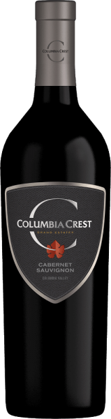 Columbia Crest 's Grand Estates Cabernet Sauvignon is a powerful American red wine cuvée made from Cabernet Sauvignon (81%), Merlot (15%), Syrah (2%) and other red, complementary grape varieties.  In the glass, this wine shines in a dense ruby red with purple highlights. Fruity, this American red wine flatters the nose. Aromas of juicy cherries and blackcurrants reveal themselves - underlined by fine spice notes. Very full-bodied, gentle and powerful at the same time convinces the palate. The dark berry fruit is accompanied by hints of fine chocolate. The silky tannin structure is wonderfully woven into the body and accompanies the long, finely spicy finish.  Vinification of Columbia Crest Cabernet Sauvignon Grand Estates The grapes are harvested manually from October in the Washington State wine-growing region. Once the harvested material has arrived in the wine cellar, 75% of the berries are ground - the other 25% remain as a whole. Separated by variety, the mash is fermented on the berry skins for 7 to 14 days. After the fermentation process is complete, the grape varieties of the Grand Estates Cabernet Sauvignon are married. The biological acid degradation of this red wine takes place both in stainless steel tanks and in wooden barrels. Finally, this wine is rounded off for 10 months in oak barrels.  Food recommendation for the Cabernet Sauvignon Columbia Crest Grand Estates Enjoy this dry red wine from the USA with roasted lamb back with crunchy vegetables, steaks fresh from the grill, or with mushroom pan dishes.