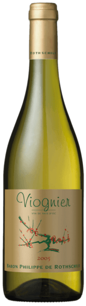 """Fruity and balanced, that's the Les Cépages Viognier IGP Pays d'Oc by Baron Philippe de Rothschild. Varietal pure from 100% Viognier grapes from the Languedoc, this French wine is brilliantly golden yellow in the glass, with varietal typical rich fragrances of apricot, apricot jam and nuances of violets. On the palate full-bodied and round, yellow fruits, apricot and mirabelle complement each other in a fruity roundness, which is supported by a well-structured acidity and end in a mineral finale. Foodpairing for Les Cépages Viognier Pays d'Oc by Baron Philippe de Rothschild This tasty Viognier by Baron Philippe de Rothschild from the south of France is an ideal companion for grilled sea fish, fried prawns, seafood salad with jacobs, as well as the typical mild French soft and noble cheese from the goat. It is recommended to serve Les Cépages Viognier Pays d'Oc well-cooled. The Baron Philippe de Rothschild estate and the project """"Les Cépages"""" Since 1995, Baron Philippe de Rothschild has been producing varietal wines. The Baroness Philippine de Rotschild found the ideal conditions for this new project in the vineyards of the Languedoc-Roussillon, close to the Mediterranean coast and not far from the eastern Pyrenees. The result was the line """"Les Cépages"""" (French for grape variety), for the respective grape variety typical wines, modern, uncomplicated, with its own character, which particularly young people and wine novices should offer easy access to the world of the Rothschild wines, and the Baronesse also enjoyed itself."""