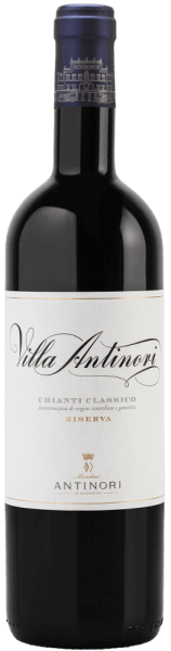 The Villa Antinori Chianti Classico DOCG Riserva by Marchesi Antinori is presented in the glass in a bright ruby red. On the nose, distinctly intense fruity notes of ripe cherries and wild berries unfold, as well as well-integrated aromas of roasted wood, tobacco and a light balsamic nuance. On the palate, this Chianti Classico Riserva is captivating, lively, tasty, full-bodied, with soft and velvety tannins. The finish is long, delicate, determined, elegant and sustainable. Vinification of Villa Antinori Chianti Classico Riserva by Marchesi Antinori For this fine Chianti Classico Riserva, Sangiovese is vinified to at least 90% and other red grape varieties Cabernet Sauvignon and Merlot to a maximum of 10%. After gentle destemming and pressing, the alcoholic fermentation in stainless steel tanks proceeds separately according to grape varieties at a controlled temperature of a maximum of 30°C. The maceration on the shells over 15 days serves to preserve aromas, structure and gentle tannins. The Sangiovese performs its alcoholic fermentation in stainless steel tanks, the other red grape varieties in barriques second and third use, then the individual batches are married to wine. The ageing is then continued in wooden barrels, especially large barrels, a small proportion in barriques, until the following spring. After bottling in the summer, the wine matures in the bottle for at least three months before being sold.A Chianti Riserva must be aged for at least 24 months from 1 January after harvesting, including at least 3 months of bottle storage. With the inauguration of the new Chianti Classico cellars, the desire arose at Antinori to revive a historic label, which was first produced in 1928. 60% of the wine was aged in wooden barrels; the rest in small French and Hungarian barriques. A small proportion was removed in new barrels. The result is this unique Chianti Classico. The flagship of the Antinori family - pure Tuscany! Food recommendation for Villa Antinori Chia
