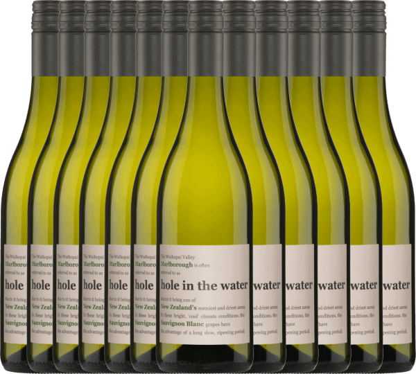 The Hole in the Water Sauvignon Blanc from Konrad Wines has a wonderful harmony between the fresh aromas and the lively acidity. The nose and palate are pampered with notes of gooseberries, freshly cut grass and tropical fruits. Enjoy this New Zealand white wine now with our 12-pack. More information about this New Zealand wine can be found in the article of Konrad Wines Sauvignon Blanc Hole in the Water.