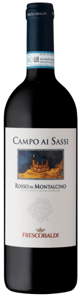 Campo ai Sassi Rosso di Montalcino DOC by Tenuta di CastelGiocondo is a spicy, mineral red wine vinified from Sangiovese grapes in Tuscany (Italy). It impresses particularly with its harmonious fruitiness. A great drop for all lovers of dry wines! Tasting note/tasting of Campo ai Sassi Campo ai Sassi Rosso di Montalcino DOC by Tenuta di CastelGiocondosparkles in a rich ruby red. The complex nose is full of fruit notes of cherry, blackberry, plum and forest fruits, complemented by mineral notes, roasted notes of cocoa and coffee as well as nuances of tobacco. On the palate, this wonderful red wine, made from Sangiovese grapes from Tuscany, looks warm and soft. This wine is wonderfully harmonious with smooth tannins well integrated into the structure. A long, sustainable finish with a fine fruity finish completes this spicy Italian wine. Vinification/production of Campo ai Sassi Campo ai Sassi is made from the Sangiovese grape variety. The grapes grow in rather young vineyards, whose wines are bouquet-rich and elegant, but contain less tannin than, for example, the grapes used for the production of Brunello. After harvesting, the grapes may ferment in the mash for 16 days. Immediately after alcoholic fermentation, malolactic fermentation is followed. The Campo ai Sassi matures for a total of 12 months: partly in Slavic oak barrels of 80 and 100 litres capacity, partly in barrique barrels. This red wine spends the last 4 months in the bottle store. Here he can fully unfold his complexity and harmony. Serving suggestion/Food pairing for the Campo ai Sassi Rosso di Montalcino DOC At 16 to 18°C, it is a wonderful companion of mixed sausage plates, pasta with meat sauce and braised meat such as chicken or rabbit.