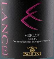 Vorschau: Lance Merlot Sicilia DOC 2018 - Cantine Paolini