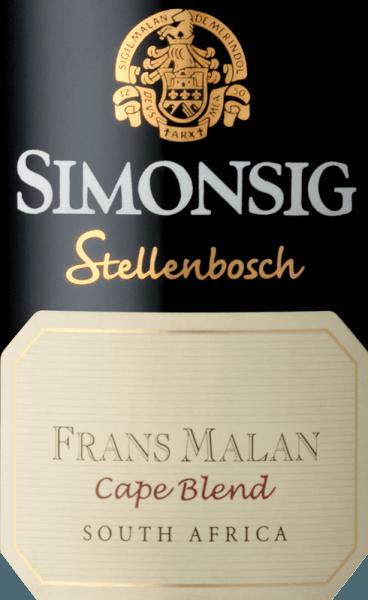 Frans Malan Cape Blend 2016 - Simonsig von Simonsig