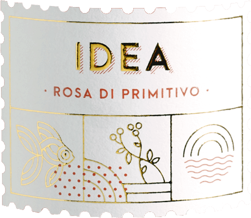 The IDEA Rosa di Primitivo by Varvaglione shows up with bright raspberry red and cherry red reflections in the glass. The nose of this apulian rosé shows a lot of red berry fruit, especially red currant, raspberry and cranberry. Floral nuances and delicate herbal notes of lemon balm and mint perfectly complement THE bouquet of IDEA Rosa di Primitivo. On the palate, the Varvaglione IDEA Rosa di Primitivo enchants with plenty of fruit, wonderful drinking flow and fine minerality. Balsamic notes as well as a vital, fresh acidity make this rosé unimaginably long and drinking on the palate. Vinification of IDEA Rosa di Primitivo by Varvaglione The grapes for this Apulian top wine grow in the IGT Puglia zone and are immediately brought to the winery after harvesting, mashed and cold macerated. After several hours on the peels, the juice for the Idea Rosa di Primitivo is squeezed and fermented at 15-16°C in a stainless steel tank. The rosé sign of Varvaglione then matures for several months on the yeast, which is stirred up again and again. Food recommendation for the Varvaglione IDEA Rosa di Primitivo Enjoy this juicy rosé made from the best Primitivo grapes with grilled seafood such as scampi, baby squid pulpo with lemon and plenty of parsley. Awards for the Varvaglione IDEA Rosa di Primitivo Gambero Rosso: 3 glasses for 2018