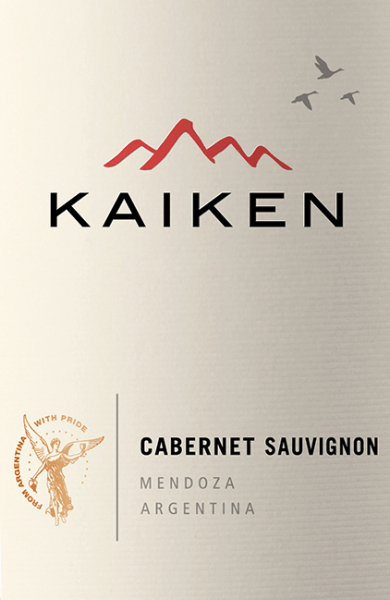 The Cabernet Sauvignon from Viña Kaiken is a wonderful Argentine red wine cuvée made from Cabernet Sauvignon (95%) and Malbec (5%). This wine shines in the glass in a dark ruby red. The bouquet reveals strong aromas of red berries - especially blackberries and blueberries. The aromas of the nose are accompanied by hints of dark chocolate, coffee and some tobacco. The palate is also pampered by the strong berry aromas. This is accompanied by a spicy, juicy personality, which harmonises perfectly with the well integrated, soft tannins. The finish is wonderfully balanced and silky. Vinification of Kaiken Cabernet Sauvignon The grapes are harvested at optimal ripeness and gently fermented in stainless steel tanks. To give this red wine its spicy personality, 60% are matured in wood - 9 months in American oak. The remaining 40% of this Argentine red wine is matured in stainless steel tanks to give this wine its unmistakably strong fruit. Food recommendation for the Cabernet Sauvignon Viña Kaiken This dry red wine from Argentina is a delight of tender pink roasted lamb fillet or also beef fillet, lasagne or also to mature, spicy cheese.