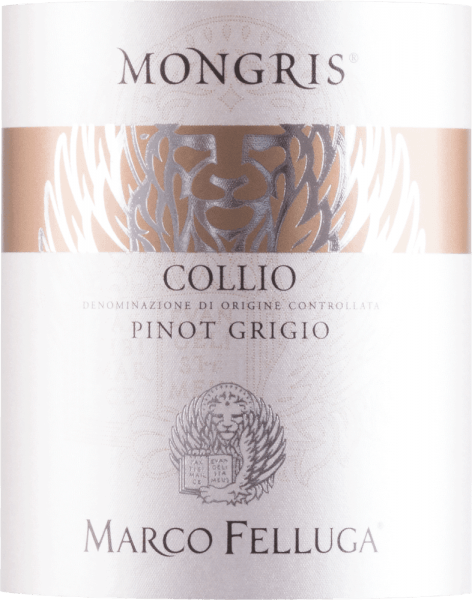 The elegant Mongris Pinot Grigio Collio from Marco Felluga glides into the glass with luminous copper gold. Ideally poured into a white wine glass, this white wine from the Old World offers wonderfully expressive aromas of quince, apple, nashi pears and violets, rounded off by other fruity nuances. The Mongris Pinot Grigio Collio by Marco Felluga is perfect for all wine lovers who like it dry. But it never proves sparse or brittle, as you can expect with a wine beyond the supermarkets. On the palate, the texture of this balanced white wine is perfectly balanced. Thanks to its vital fruit acid, the Mongris Pinot Grigio Collio is fantastically fresh and lively on the palate. The finale of this maturable white wine from the Friuli-Venezia Giulia wine-growing region, more precisely from Collio, finally captivates with exceptional reverberation. The finish is also accompanied by mineral notes of the soils dominated by clay and sandstone. Vinification of Marco Felluga Mongris Pinot Grigio Collio This balanced white wine from Italy is made from the Grauburgunder grape variety. The grapes grow under optimal conditions in Friuli-Venezia Giulia. Here the vines dig their roots deep into soils of clay, sandstone, clay and marl. After the hand-picking, the grapes quickly reach the press house. Here you are selected and gently ground. Fermentation is then carried out in a stainless steel tank at controlled temperatures. The fermentation is followed by ageing for a few months on the fine yeast before the wine is finally bottled. The ageing is followed by a remarkable bottle maturation, which makes this white wine even more complex. Food recommendation for Marco Felluga Mongris Pinot Grigio Collio This Italian should best be enjoyed chilled at 8 - 10°C. It is perfect as a companion to fried trout with ginger pear, fruity endive salad or omelette with salmon and fennel.