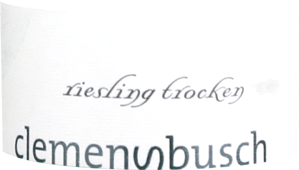 Riesling trocken 2019 - Clemens Busch von Clemens Busch