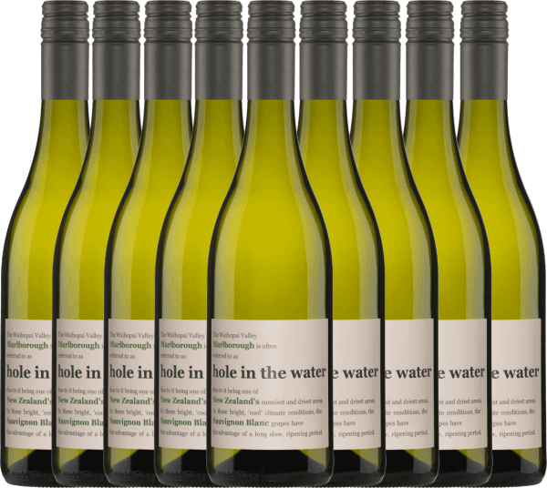 The Hole in the Water Sauvignon Blanc by Konrad Wines has a wonderful harmony between the fresh aromas and the lively acidity. The nose and palate are pampered by notes of gooseberries, freshly cut grass and tropical fruits. Enjoy this New Zealand white wine with our 9-pack of benefits. More information about this wine from New Zealand can be found in the individual article ofKonrad Wines Sauvignon Blanc Hole in the Water.