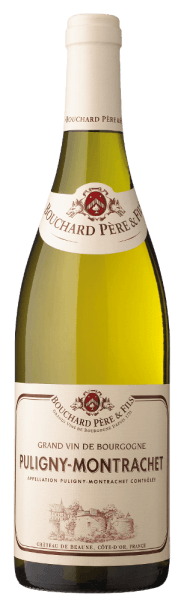 The Puligny-Montrachet AOC by Bouchard Père et Fils is green-gold in the glass, on the nose this French white wine from the Burgundy unfolds a fine fruity-floral bouquet, with light wood notes. On the palate fresh and harmonious, subtle, balanced structure, with power and elegance in the long aftertaste. Vinification of the Puligny-Montrachet AOC by Bouchard Père et Fils For the Puligny-Montrachet 100% Chardonnay grapes are vinified, which grow in the appellation of the same name. After the selective manual harvest, the grapes are gently pressed. The wine then ages for 10 to 12 months in French oak barrels, up to 15% new barrels. Food pairing for the Puligny-Montrachet AOC by Bouchard Père et Fils Enjoy this elegant, fresh white Burgundy wine with fish, seafood and shells.