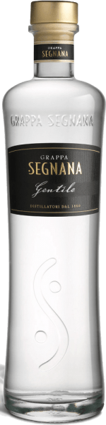 The Grappa Gentile of Segnana is a fine distillate, which consists mainly of the Chardonnay marc of the Ferrari winery, but also contains red grape varieties that give the elegance of Chardonnay a fine touch.