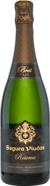 In the glass, the Brut Reserva by Segura Viudas presents itself straw yellow and with a filigree, elegant and persistent perlage. The fruity refreshing bouquet reveals aromas of white fruits, exotic fruits and citrus fruits as well as slightly floral nuances. On the dry, complex, full-bodied palate, a stimulating acidity structure and notes of pineapple and lime provide plenty of freshness. A long, dry finish completes this lace cava. Vinification of the Cava Brut Reserva The grapes are carefully picked, destemmed, pressed and clarified by hand. The resulting must is statically decanted for 24 hours to promote fruitiness and elegance. Then, separated by grape juices, the first and second fermentation takes place with selected yeast strains to give structure, complexity and a beautiful mousseux. The blend consists of 12 different wines, four of which are stored for three months in a stainless steel tank on the yeasts after the first fermentation. Before bottling, various additives are added to the wine, so that a second alcoholic fermentation takes place in the bottle. This is followed by storage on the yeast for at least 15 months, usually 24 to 36 months. After storage has been completed, during a shaking process lasting several weeks, the dead yeast in the bottle neck is first concentrated and finally shock-frozen and degraded (removed). The bottle is now filled, corked, labelled and shipped with an exclusively compiled dosage. Food recommendation for the cava of Segura Viudas Serve this sparkling wine as a stylish aperitif or accompaniment to seafood or fish pasta. It also harmonizes wonderfully with soft and mild cheeses such as a brie and can easily accompany a whole menu. Awards for the Segura Viudas Brut Reserva Falstaff: 91 points Mundus Vini: Silver Wine Spectator: 86 points The Champagne & Sparkling Wine World Championships UK: Gold