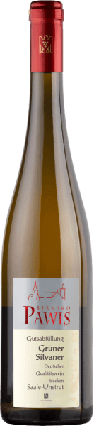 The green Silvaner quality wine dry from Pawis smells of banana, apple and pear.The fruit aromas are also preserved in the mouth, along with some yellow fruit. A direct and refreshingly light Green Silvaner that shows a slender body with a firm structure and contains something extra sweet.