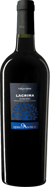 Velenosi's Querci Antica Lacrima di Morro d 'Alba is made from the indigenous Lacrima di Morro d 'Alba grape variety. The name comes from the fruit juice that emerges in tears in ripe berries - a characteristic that can only be found in this grape variety. The Querci Antica Lacrima di Morro by Velenosi shows an intense crimson colour and violet highlights. In the glass, it expressively smells of strawberries, shadow morals and other black fruits. Floral nuances of violets, English roses and other flowers complement the bouquet. On the palate, this Lacrima by Velenosi is wonderfully juicy, tasty and characterized by harmonious tannins. Vinification of Querci Antica Lacrima di Morro by Velenosi After destemming, the Lacrima berries are filled into stainless steel tanks and fermented at 20°C for about 20 days. This way, the fruity and floral bouquet of the grape variety comes to its best advantage Food recommendation for Querci Antica Lacrima Enjoy this top-rated red wine from the brands with Ligurian rabbits, juicy steak or just like that. Awards for the Lacrima di Morro by Velenosi Luca Maroni: 99 points for 2016