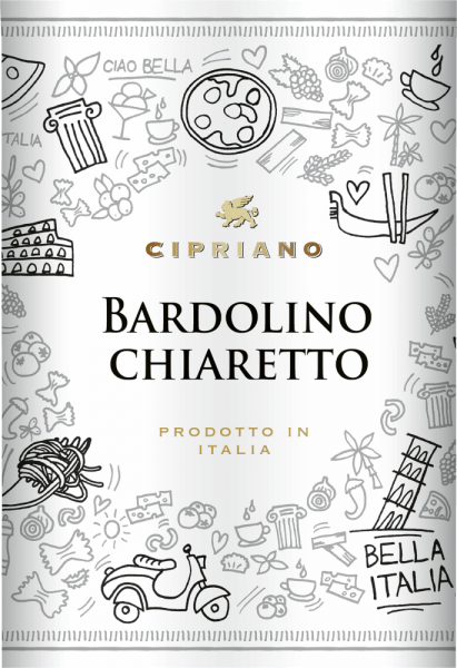 With the Cipriano di Venezia Bardolino Chiaretto, a first-class rosé wine comes into the swirling glass. In this it presents a wonderfully brilliant pink colour. Ideally poured into a white wine glass, this rosé wine from the Old World presents wonderfully expressive aromas of lily, jasmine, perfumed rose and blueberry, rounded off by other fruity nuances. This rosé from Cipriano di Venezia is ideal for all wine lovers who like as little residual sweetness in the wine as possible. However, it is never sparse or brittle, which is absolutely not a matter of course for a wine at the entry level. On the tongue, this light-footed rosé wine is characterised by an incredibly light texture. With its moderate fruit acidity, the Bardolino Chiaretto flatters the palate with a velvety sensation, without sacrificing its juicy liveliness. In the finish, this youthful rosé wine from the Veneto wine growing region finally inspires with good length. There are again hints of lily and violet. Vinification of the Cipriano di Venezia Bardolino Chiaretto The starting point for the first-class and wonderfully elegant Bardolino Chiaretto cuvée from Cipriano di Venezia are Corvina, Molinara and Rondinella grapes. After the manual harvest the grapes are immediately taken to the winery. Here they are sorted and carefully broken up. Fermentation follows in stainless steel tanks at controlled temperatures. At the end of fermentation, the Bardolino Chiaretto can continue to harmonise on the fine yeast for a few months. Recommended with Cipriano di Venezia Bardolino Chiaretto This Italian rosé wine is best enjoyed well chilled at 8 - 10°C. It is a perfect accompaniment to pasta with sausage dumplings, coconut-lime-fish curry or vegetable stew with pesto.