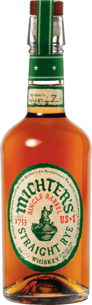Michter's US*1 Single Barrel Straight Rye Whiskey glows in a golden amber shade in the glass. The nose of this noble whiskey promises aromas of toffee and hazelnut, complemented by oak, freshly crushed black pepper, lemon zest and fresh hay. On the palate, the Michter's US*1 Single Barrel Straight Rye Whiskey delights with fullness, spiciness and a soft and at the same time grippy-fiery finish. A real treat, ideally at room temperature in a nosing glass. Michter's US*1 Single Barrel Straight Rye Whiskey is made for the most part from rye and comes from a single burning process. You can no longer set a higher quality standard for a whiskey.