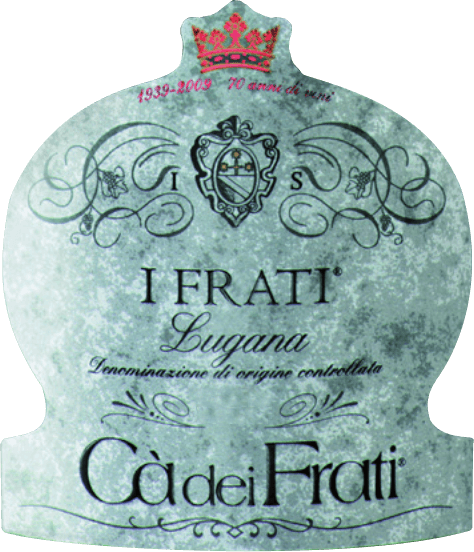 The I Frati Lugana of Cà dei Frati is the pride of the winery and is vinified from the local grape varietyTurbiana (Trebbiano). In the glass, this wine shines in a clear straw yellow with golden highlights. The bouquet is wonderfully multifaceted - at a young age, the nose is spoiled by fine notes of white flowers, juicy apricots and almonds. When this Italian white wine is given time, mineral and spicy nuances and caramelised aromas are added. On the palate, this wine is wonderfully full-bodied with a vital and exuberant acidity. The spicy essence is perfectly integrated into the straight, mineral and elegant body. This white wine impresses with its finesse, complex personality and expressive variety of aromas. Vinification of the Cà dei FratiLugana After the grapes have been carefully harvested, they are immediately taken to the Cà dei Frati winery. The must is fermented in a stainless steel tank and left on the fine yeast for at least 6 months (sur Lie ageing). Finally, this wine matures for another 2 months on the bottle. Food recommendation for the LuganaCà dei Frati Enjoy this dry white wine from Italy with lukewarm appetizers or with grilled fish with parsley potatoes. Awards for I Frati Lugana Falstaff: 92 points for 2017 Mundus Vini: Italy's best white wine for 2017 Vinum: 17/20 points for 2017 Wine Enthusiast: 91 points for 2015