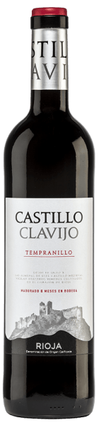 This Spanish red wine is a pure variety wine from the grape Trempranillo.  The brilliant red colour of the Castillo de Clavijo Tempranillo Tinto Rioja DOCa by Criadores de Rioja is reminiscent of a sparkling ruby. In the nose, aromas of wild blackberries are complemented by subtle vanilla and wood notes of barrique development. On the palate, this red wine looks soft and juicy fresh, with well-integrated woody nuances, lots of fruity impressions as well as spicy and balsamic notes. This red wine stands for the beautiful balance between dominant fruit and short barrique storage. Vinification of the Castillo de Clavijo Tempranillo The hand-harvested harvested material from the Criadores de Rioja winery is destemmed, ground, mashed and the resulting mash is fermented in a temperature-controlled stainless steel tank. The fermented wine finally matures for 6 months in French and American oak barrels before being bottled.  Food recommendation for the Criadores de Rioja Castillo de Clavijo Tempranillo Enjoy this red wine from Rioja with fresh summer salads, soups, tapas, stuffed vegetables, pasta with meat sauces, pizza, strong meat dishes or mild hard cheeses.