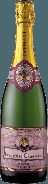 Crémant de Bourgogne Rosé Brut AOC - Françoise Chauvenet